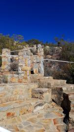 Stone stairways and rest stop-H900